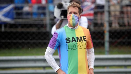 Vettel soll wegen Regenbogen-T-Shirt bestraft werden