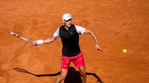 Dominic Thiem schlägt bei den Hamburg Open auf