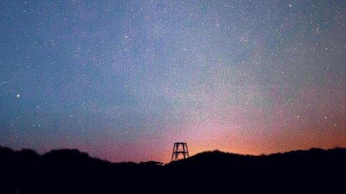 Das Lauwersmeer ist perfekt zum Beobachten der Sterne
