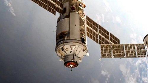 Raumstation ISS gerät unkontrolliert in 45 Grad Schieflage