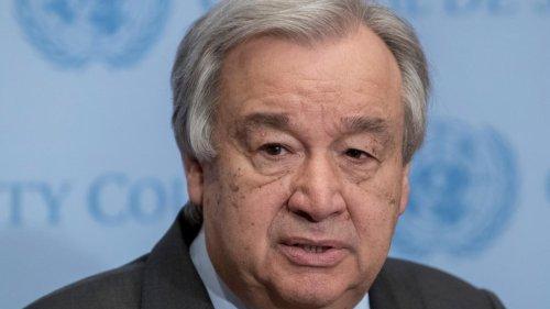 """UN-Generalsekretär Guterres fordert Ende von """"Krieg gegen unseren Planeten"""""""