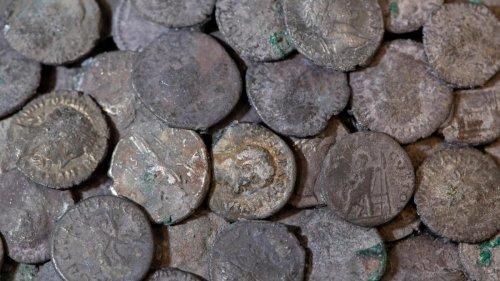 5500 Silbermünzen eröffnen einen Blick in die Römerzeit