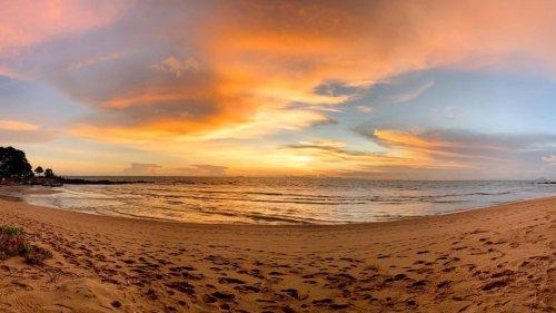 Über Koh Lanta brennt der Himmel