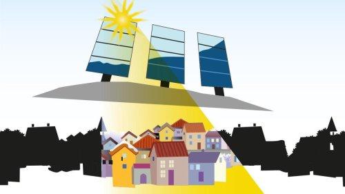 Wie sich eine Stadt in Norwegen Sonnenlicht beschafft