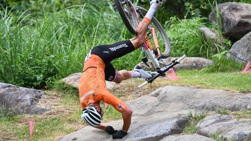 Schwerer Mountainbike-Sturz – Gold-Anwärter erhebt Vorwürfe