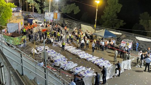 44 Tote bei Massenpanik in Israel