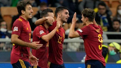 Spanien nach Sieg gegen Italien im Finale der Nations League
