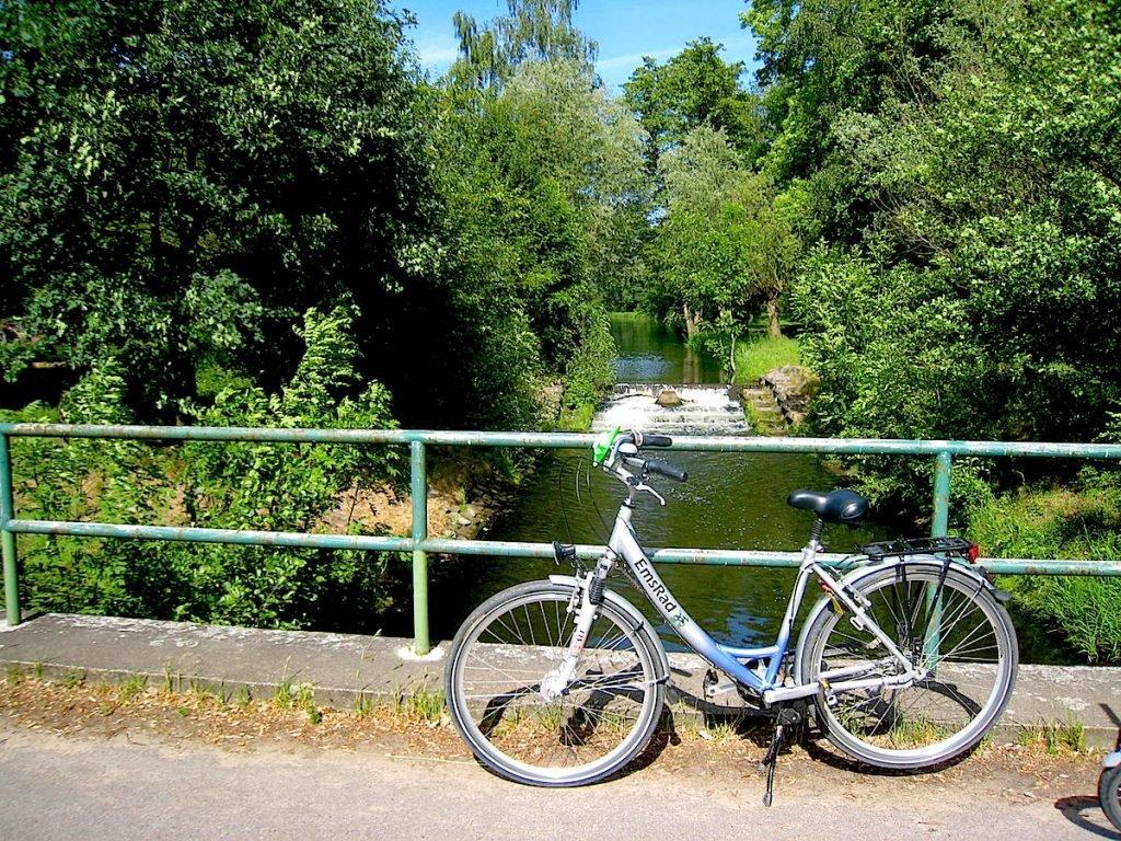 Der idyllische EmsRadweg im Münsterland