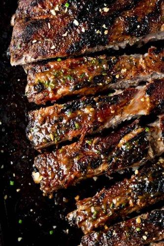 Thai BBQ Pork Spare Ribs