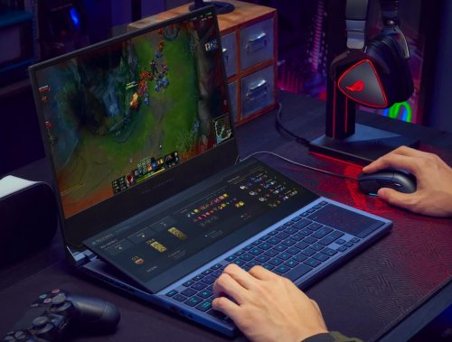 Asus Introduces Dual-4k Touchscreen Gaming Laptop