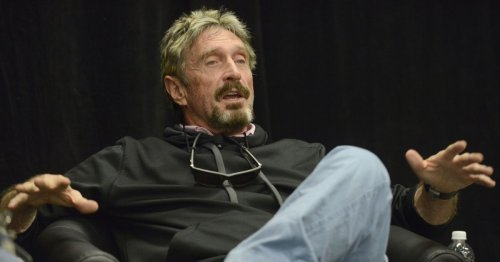 Mysterious Image Posted to McAfee's Instagram After He Was Reported Dead Sparks Conspiracy Theories