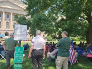 Crowd Rallies Against Gov. Beshear's Use of Emergency Powers