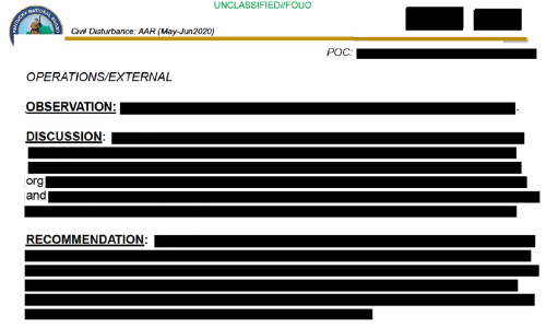 Ky. National Guard Releases Heavily Redacted Review of 2020 Deployment