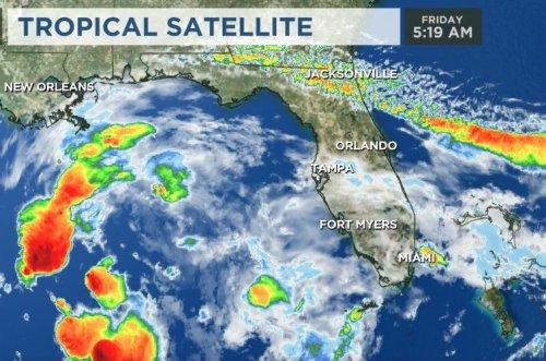 Potential Tropical Cyclone Three forecast to bring heavy rain, flooding to Gulf Coast