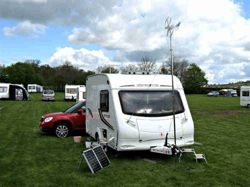 Living off the grid: Wind Powered Caravanning