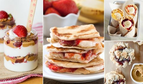 23 Genius Twists On The Peanut Butter & Jelly Sandwich