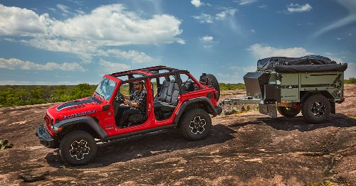 Jeep reveals range of accessories for Wrangler 4xe PHEV