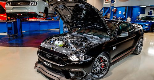Herrod Performance creates world-first Ford Mustang Mach 1