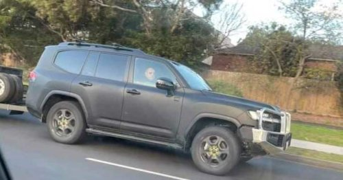 LandCruiser 300 Series spotted on Melbourne roads