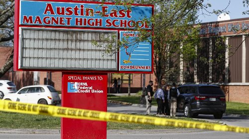 Student dead, Knoxville officer wounded after shooting at Tennessee high school