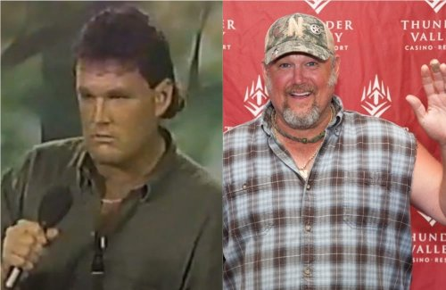 """Watch Larry The Cable Guy Do Standup Before His Fake Redneck Accent and """"Cable Guy"""" Character"""