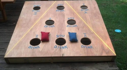 This Cornhole Drinking Game Is Sure To Make Everyone A Winner