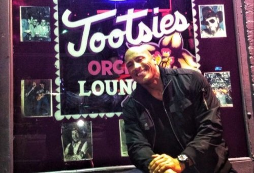 The Rock Shares Throwback Picture In Front Of Tootsies, Recalls His Teenage Years Trying To Sing Country Music On Broadway