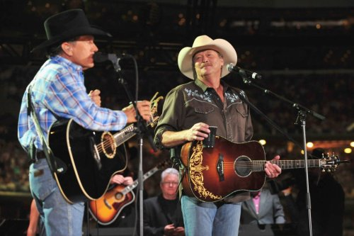 """Relive The Greatness That Is George Strait & Alan Jackson Singing """"Murder on Music Row"""""""