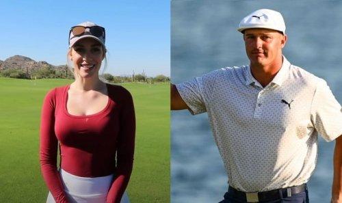Paige Spiranac Reacts To Pro Golfer Bryson DeChambeau's Horrendous Drive