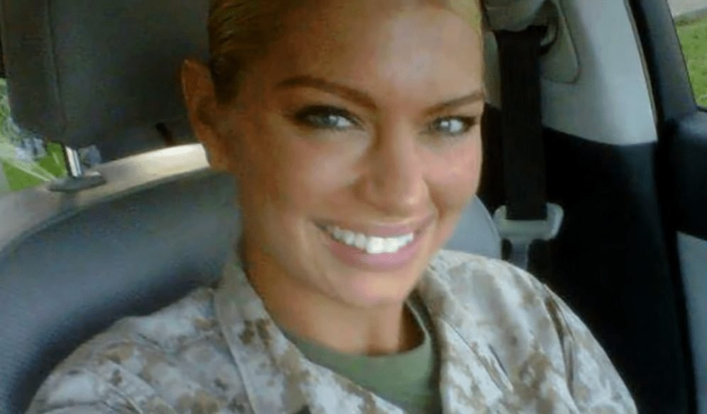 """""""World's Hottest Marine"""" Says Modeling Is Just As Hard As Being A Marine"""
