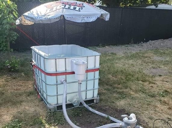 This Coors Light Personal Pool Is Redneck Engineering At Its Finest