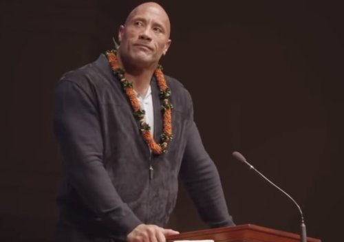 The Rock Delivers a Deeply Emotional and Captivating Eulogy For His Father
