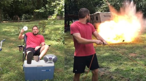 Guy Demonstrates How To Properly Listen To Luke Bryan