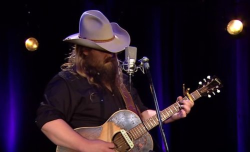 "Throwback To Chris Stapleton's Acoustic Cover Of The B.B. King Hit ""The Thrill Is Gone"""