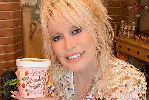 Dolly Parton's New Jeni's Ice Cream Flavor Is Already On eBay For $1,000 A PINT
