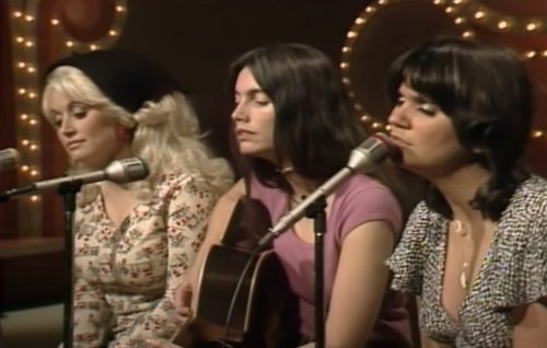 "Dolly Parton, Emmylou Harris, Linda Ronstadt Join Forces To Sing Country Gospel Classic, ""The Sweetest Gift,"" Back In 1976"