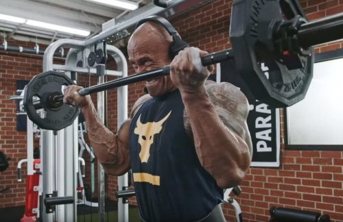 The Secret Behind The Rock's World-Class Workouts? Tequila And Raw Hot Dogs