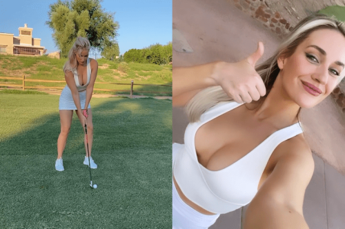 """Paige Spiranac Shares The Secret To Being An Instagram Golf Girl: """"Shoot From The Front, No One Cares Where The Ball Is Going"""""""
