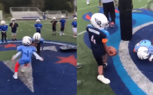 Youth Football Coach From Viral Video Of Brutal Practice Drill Was Fired