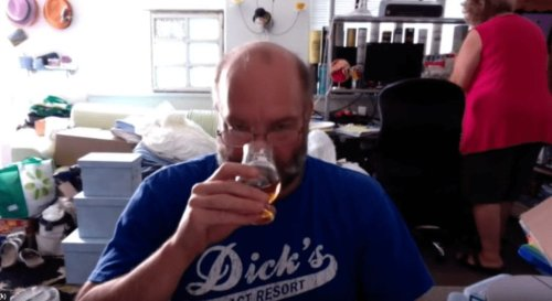 Guy Reviews Scotch While His Wife Packs Her Sh*t To Divorce Him In The Background