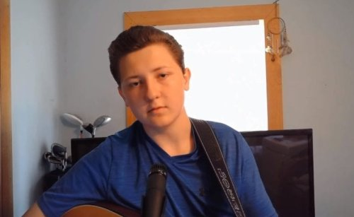 """Viral Johnny Cash Kid Releases Full Cover Of """"I Walk The Line,"""" And I'm Still Convinced He's The Ghost Of Johnny Cash"""