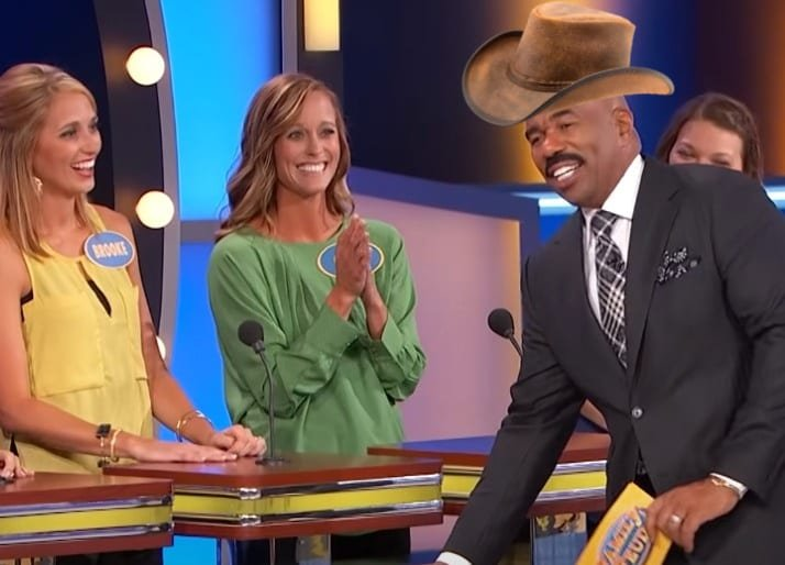 """VIDEO: Steve Harvey's Most """"Country"""" Moments From 'Family Feud'"""