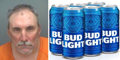 """Infamous Florida Man, """"Bud Light Mike,"""" Strikes Again… Busted For Stealing More Bud Light"""
