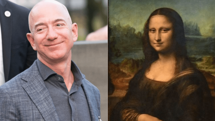 A viral petition demands Jeff Bezos do unspeakable things to the Mona Lisa - cover