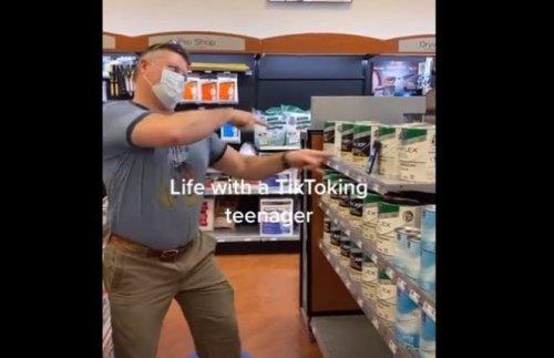 Dad Finally Snapped, Imitates His Teenage Daughter's TikTok Routine