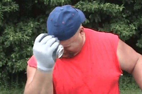 """Redneck Hilariously Shows You All The Different Ways To Open A Can Of """"Sodee Pop"""""""