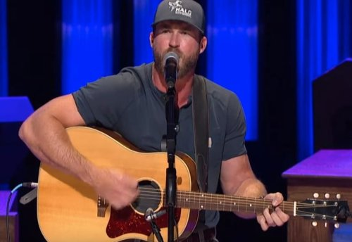 """Opry Crowd Erupts When Riley Green Gets To The """"I Wish Country Music Still Got Played on Country Radio"""" Line"""