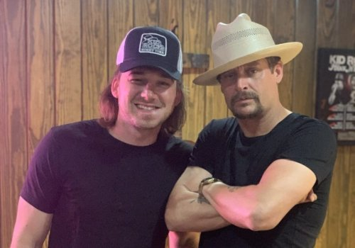 """""""Fresh Out"""" – Morgan Wallen Shares Pic With Kid Rock After Getting Arrested At His Bar"""