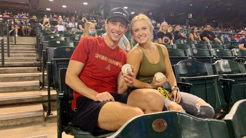 Viral Couple From Arizona Diamondbacks Game Has Officially Called It Quits After Just Three Dates