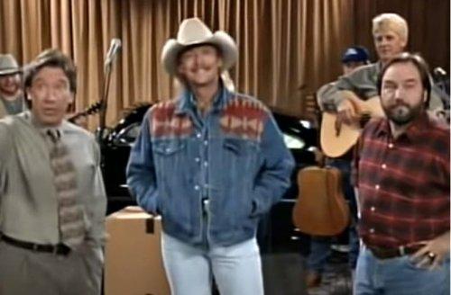 "Alan Jackson Singing ""Mercury Blues"" on 'Home Improvement' Is 90's GOLD"